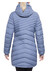 Bergans Svolvaer Down Long Jacket Lady Dusty Blue/Night Blue